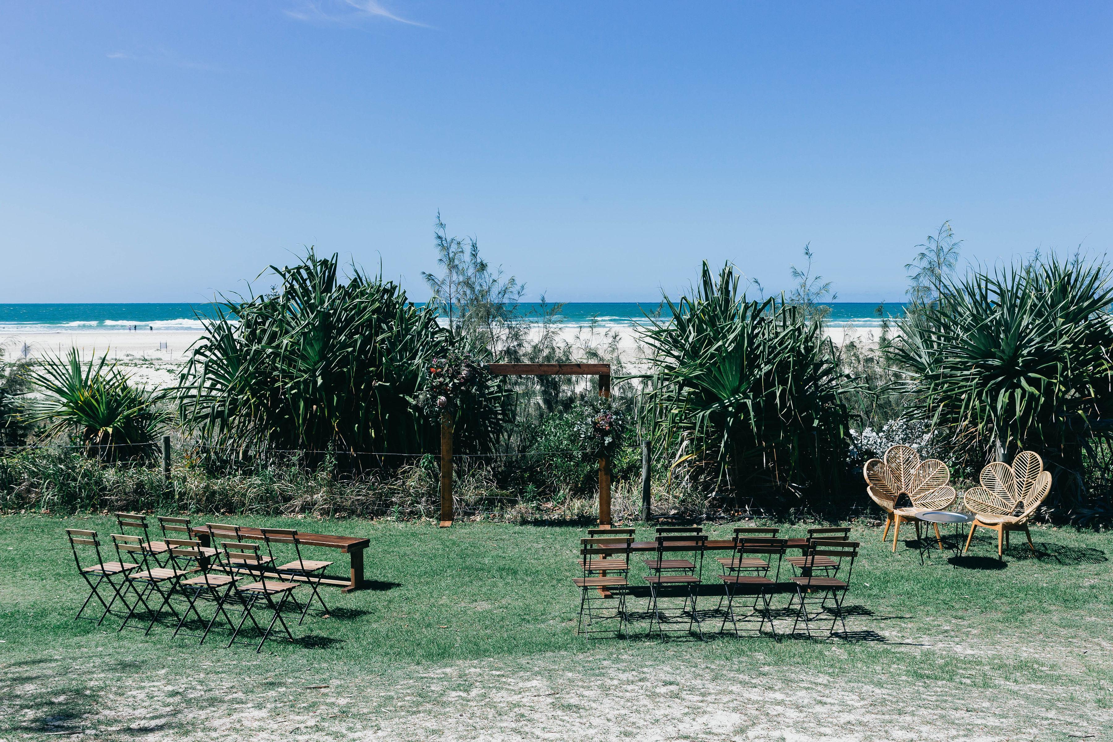 Kingscliff Beach Wedding