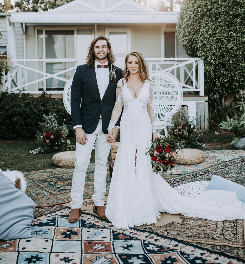 Sherry + Sam Summergrove Wedding