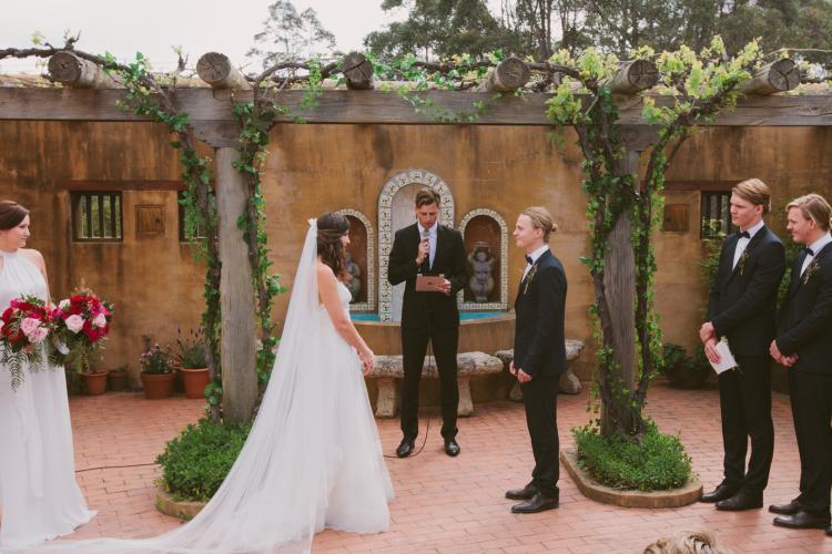 grantite belt wedding