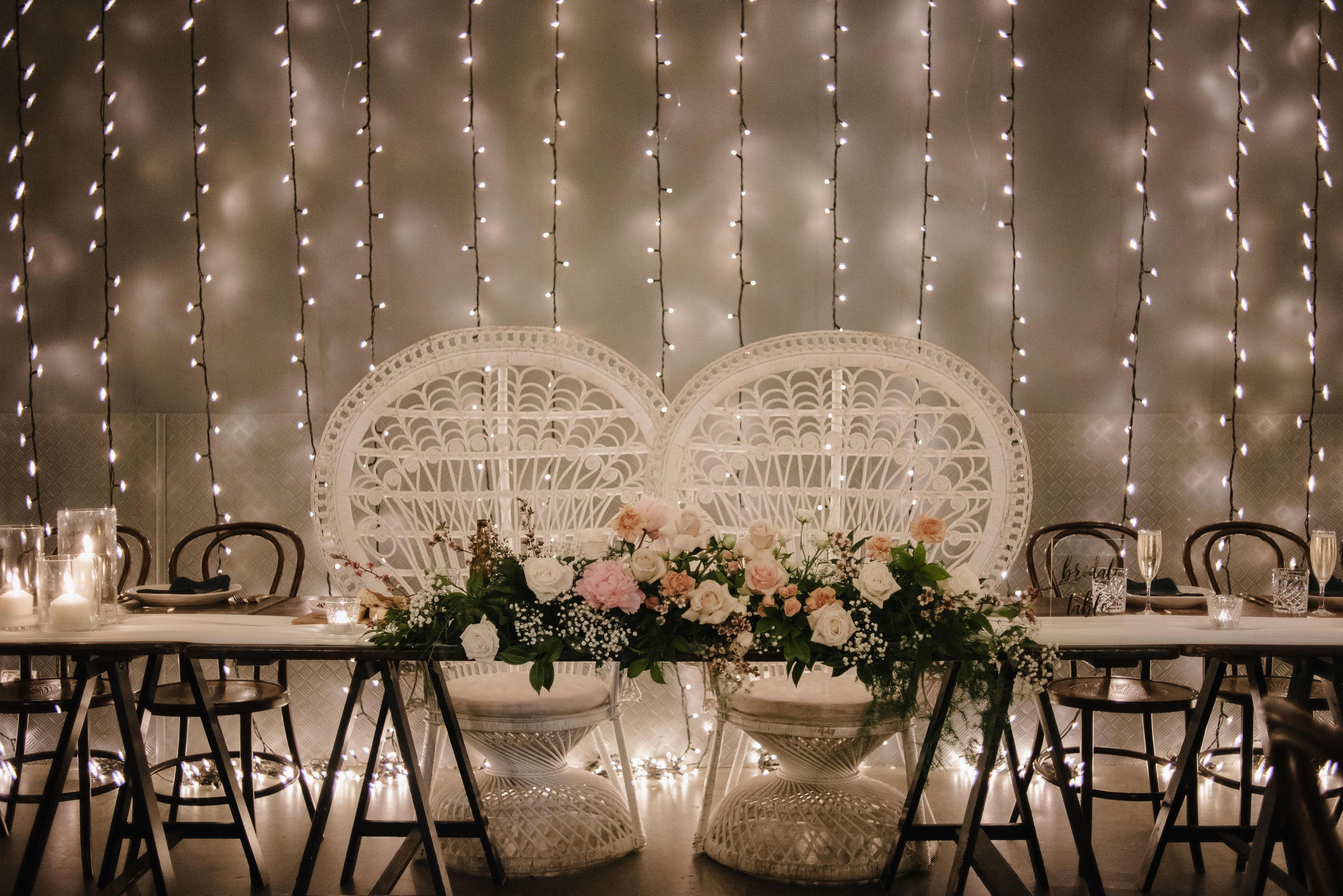 Wedding flowers + hire