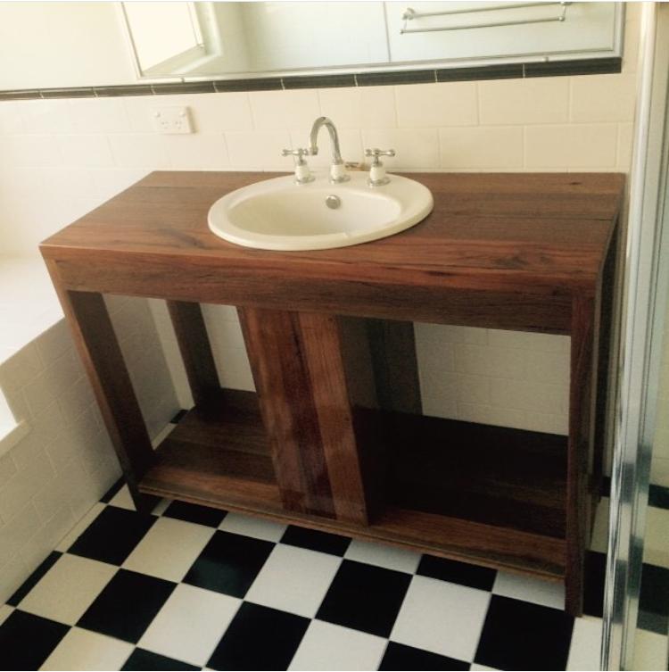 Custom Bathroom Vanities Gold Coast recycledluke - quality custom made timber furniture - gold