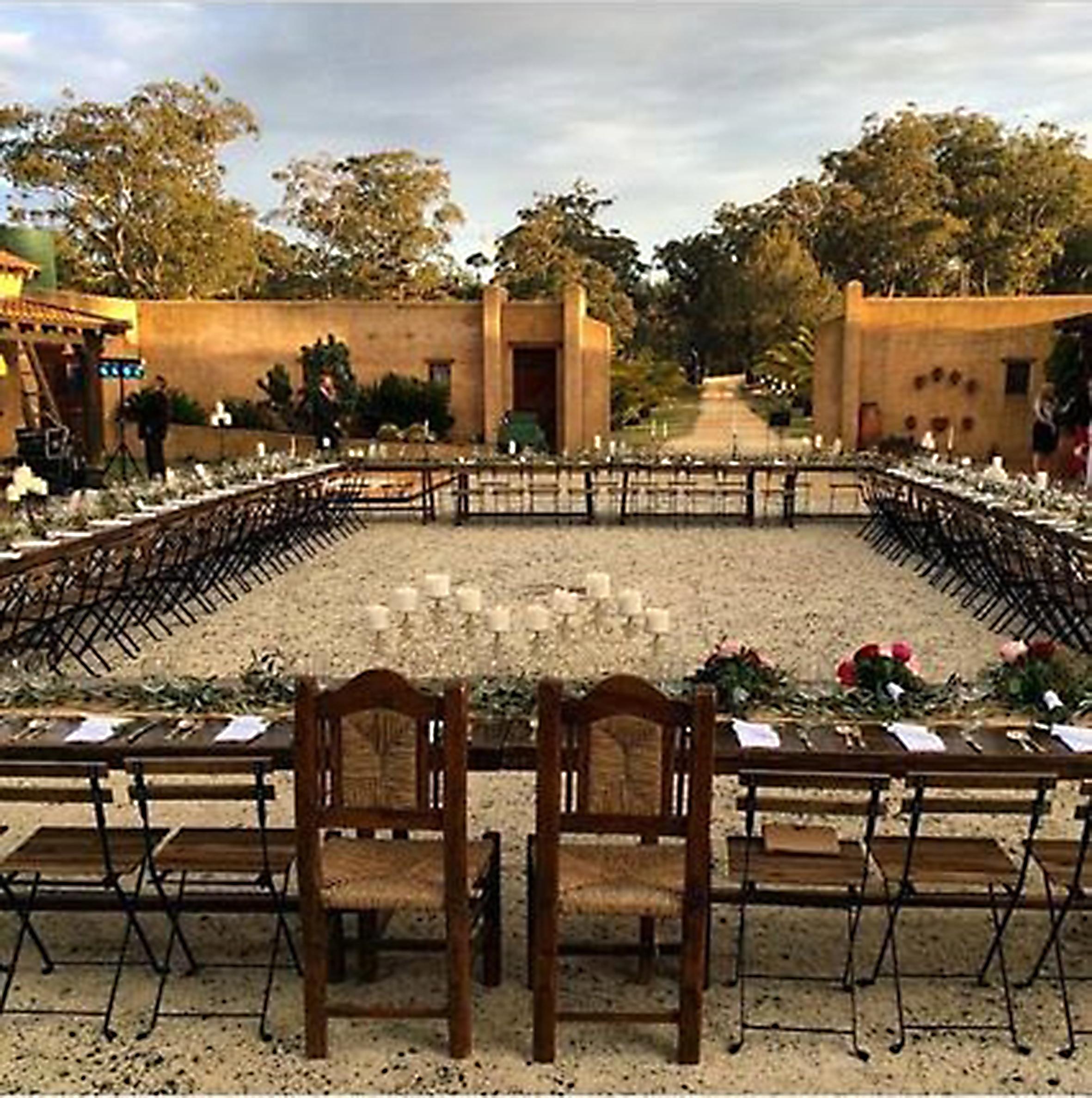 tuscan inspired wedding