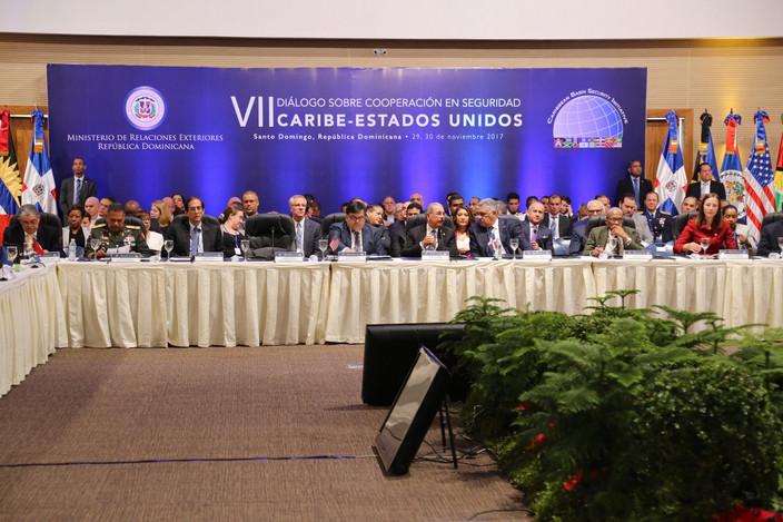 Danilo Medina encabeza inauguración VII Diálogo sobre Cooperación en Seguridad Caribe-Estados Unidos