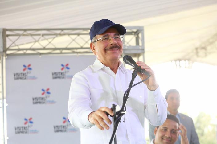 """Danilo Medina: """"No somos el paisito que conocimos en el pasado. Somos la economía de más prestigio d"""