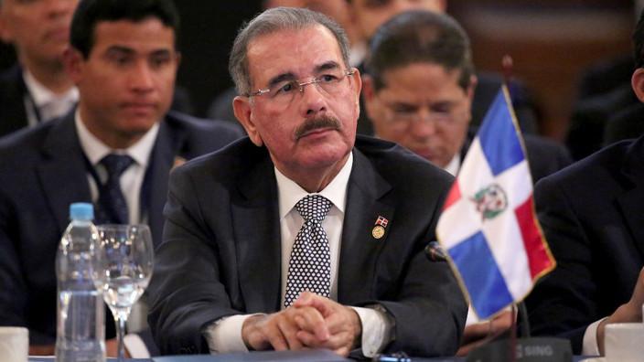 Danilo Medina recibe Presidencia SICA