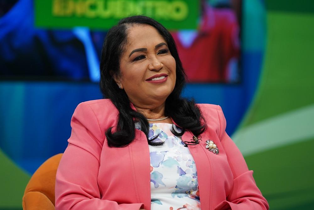 Maritza López, administradora general del Inavi