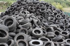 Combustible de neumáticos viejos