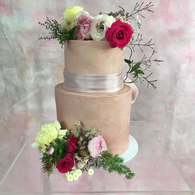 Wedding Cake Flowers by Stephanie Belle Botanical