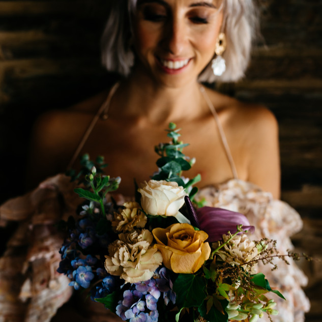 Bridesmaid Bouquet by Stephanie Belle Botanical