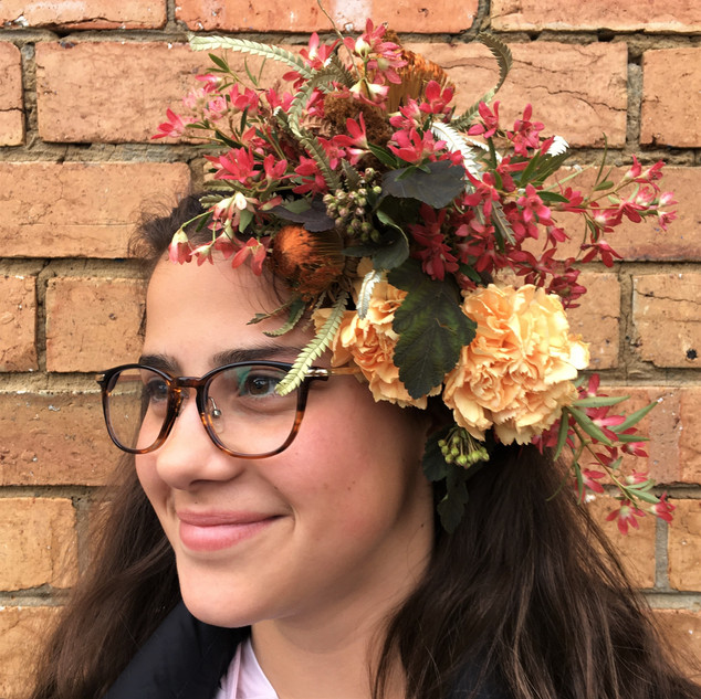 Flower Fascinator by Stephanie Belle Botanical