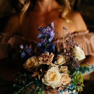 Stephanie Belle Botanical Bridesmaid Bouquet