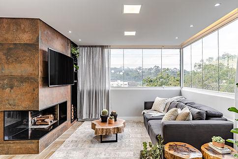Sala de estar ampla