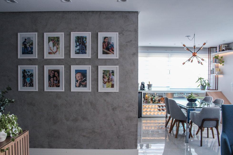 Mural de fotos - SAH Arquitetura