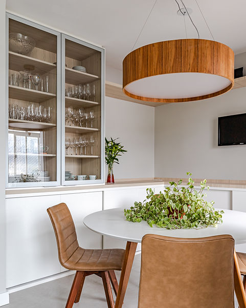 Mesa redonda cozinha