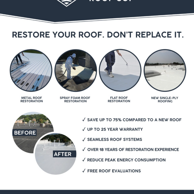 Armour Roof Co. Flyer