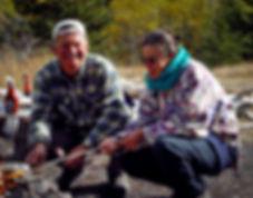 Camping On Chilko Lake