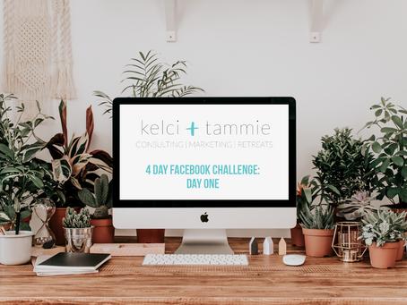 4 Day Facebook Challenge: Day 1
