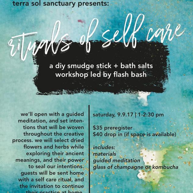 Rituals of Self Care