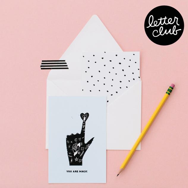 Letter Club Launch