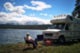 Chilko Lake Campsite