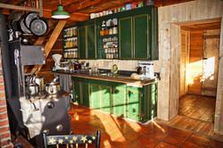 Wood Kitchen Stove