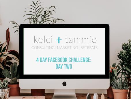 4 Day Facebook Challenge: Day 2