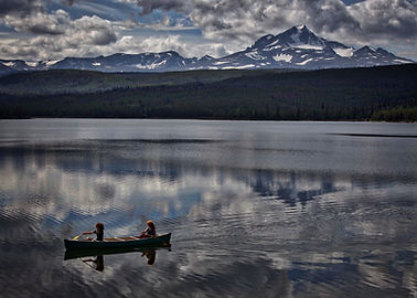 Canoe Trips in The Chilcotin