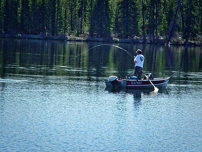 Fishing Chilcotin