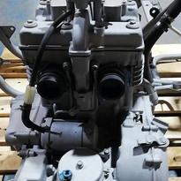 moteur de moto décapé