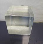 Bloc de cristal poli