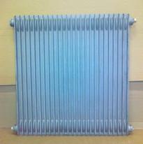 radiateur en fonte décapé par aérogommage