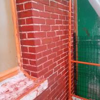 chantier décapage façade par aérogommage