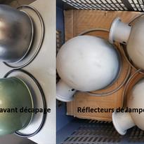 Réflecteurs de lampe industrielle