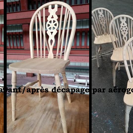 chaises avant/après
