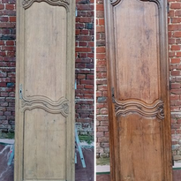 Porte d'armoire en chêne