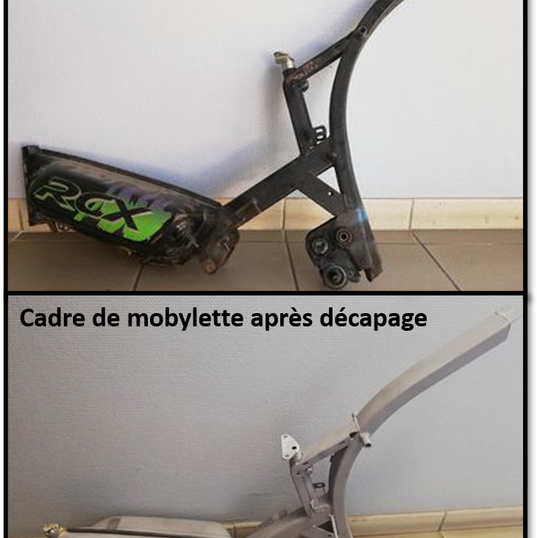 cadre mobylette