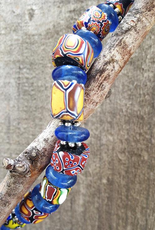 Italian Trade Bead Necklace