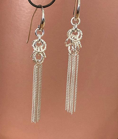 Sterling Tassel Earrings