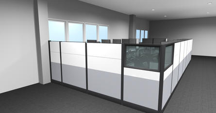 Parkway Toyota Sales Workstations render