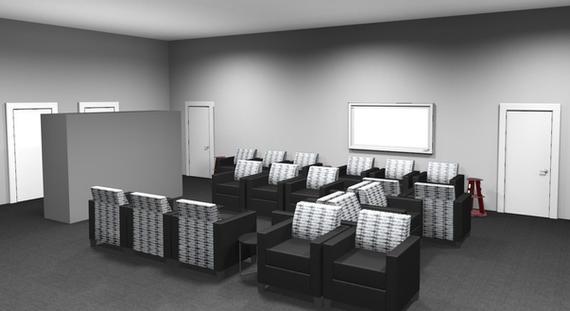 Parkway Toyota Waiting room rendering 2.