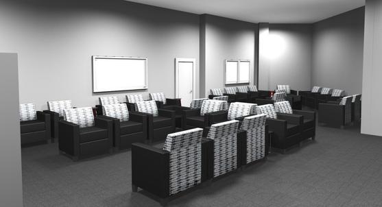 Parkway Toyota Waiting room rendering 1.