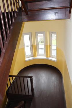 Renoviertes Altbau Treppenhaus