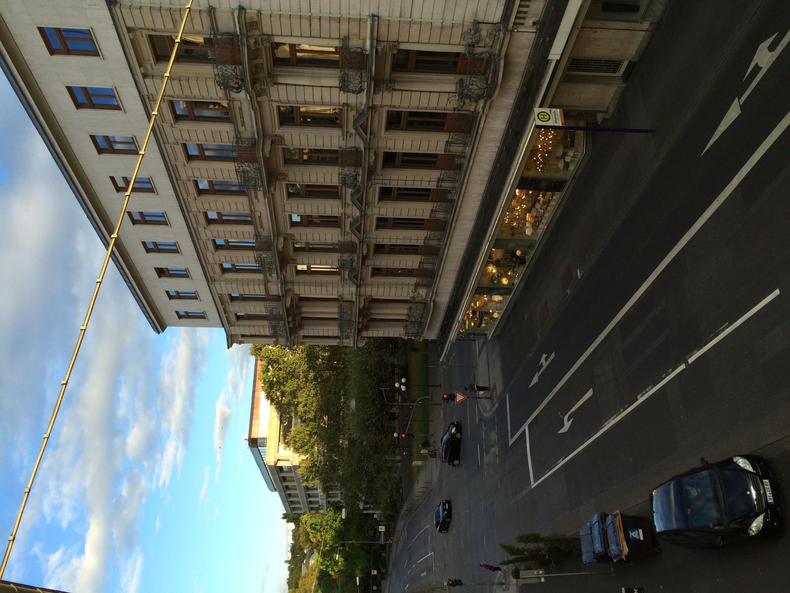 Blick auf Luisenstraße