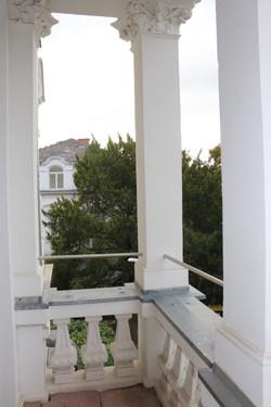 Balkon vom Wohnzimmer