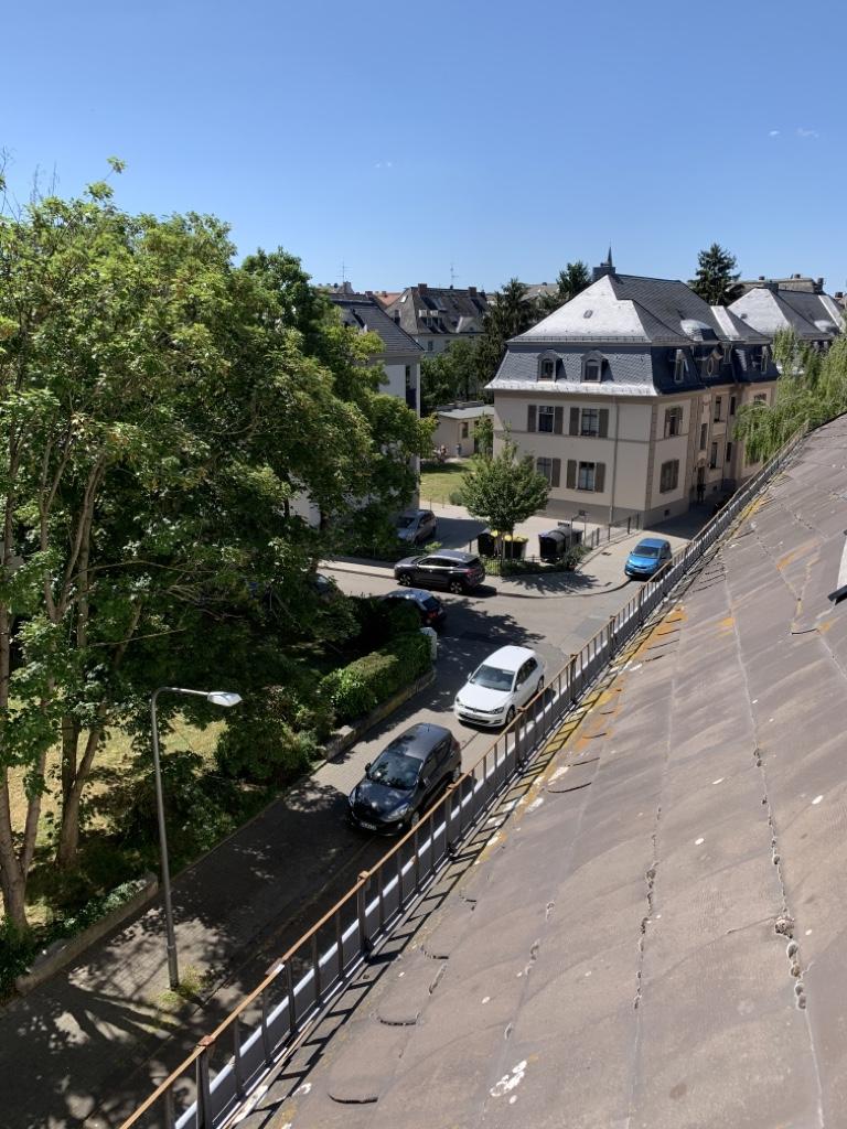 Ausblick Andreasstraße Wiesbaden