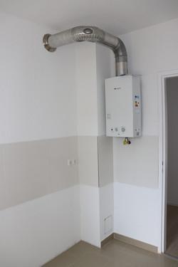 Neue Warmwassertherme
