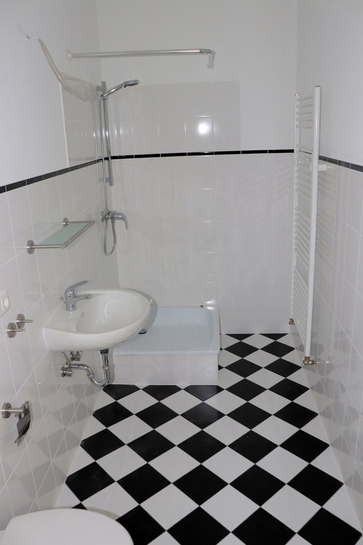 Innenliegendes Badezimmer