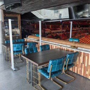 American Airlines Arena Table Partitions