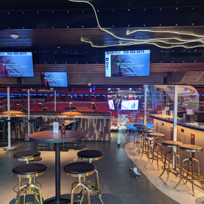 American Airlines Arena Bar Partitions