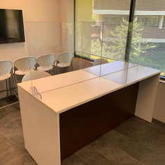 Kone (lunch table partitions)